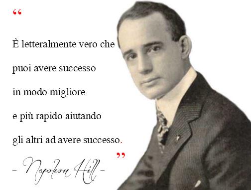 Napoleon Hill citazione