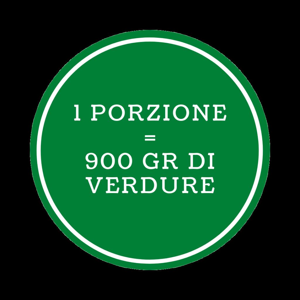 900 gr verdure