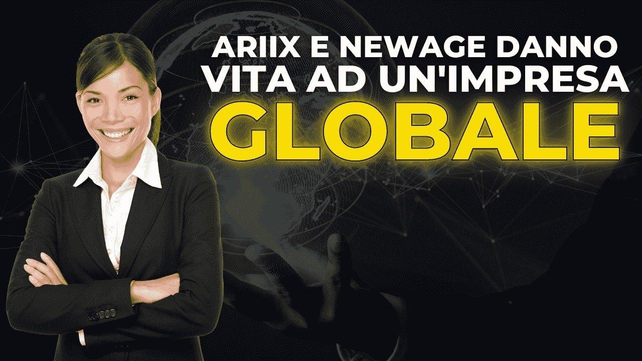 Read more about the article Ariix e NewAge danno vita ad un'impresa globale