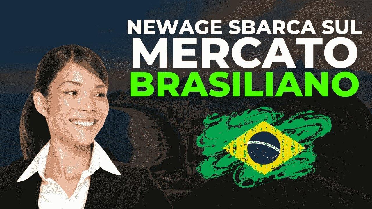 NewAge sbarca sul mercato brasiliano