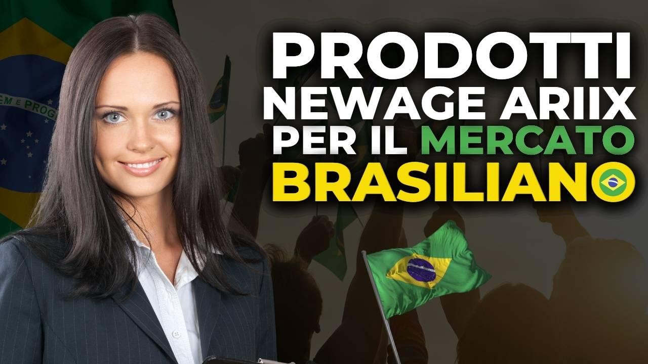 Read more about the article Prodotti NewAge Ariix per il mercato brasiliano